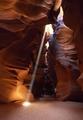 Slot canyon in Page, Arizona LCCN2011635812.tif