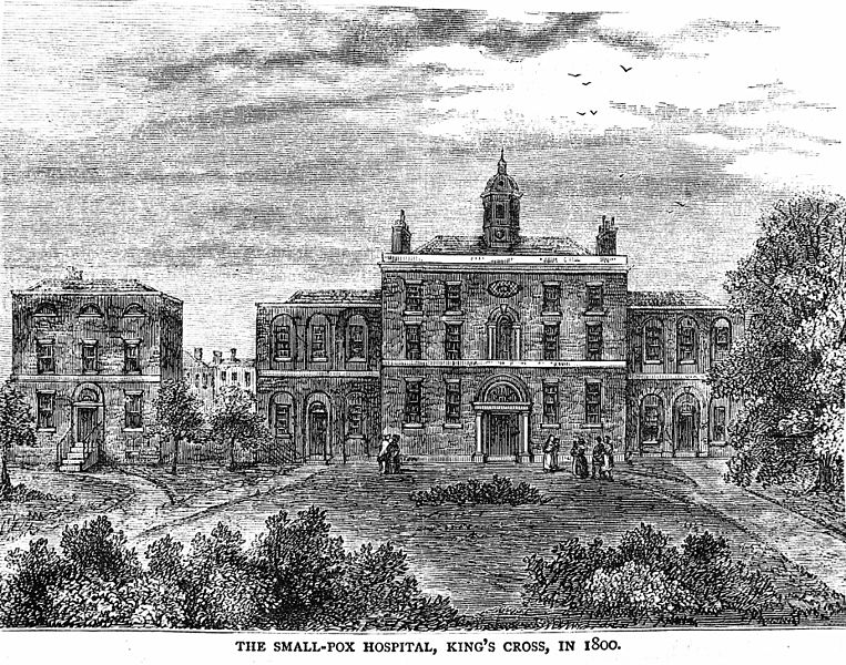File:Smallpox Hospital, King's Cross, in 1800. Wellcome M0010025.jpg
