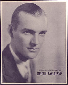 Smith Ballew on a 1931 sheet music cover.