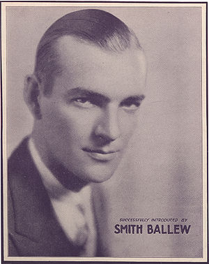 Smith Ballew - Smith Ballew on a 1931 sheet music cover.