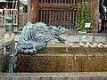 Smok w świątyni Kiyomizu w Kioto.JPG