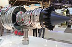 Snecma Silvercrest business jet engine PAS 2013 01.jpg