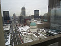 Snowy look at the Old Courthouse from the JNPA offices (5264014468).jpg