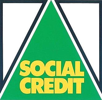 Social Credit Party (New Zealand) - Image: Social Credit Logo