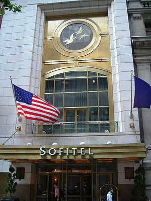 Sofitel New York Hotel - Image: Sofitel New York 1