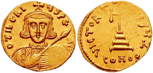 Solidus-Tiberius III-sb1360.4