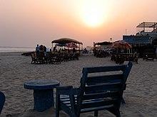 Solnedgang på Labadi beach.jpg