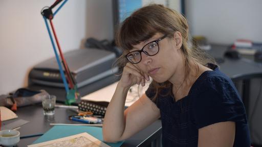 Sophie Guerrive en résidence à la Cité Internationale de la bande dessinée et de l'image