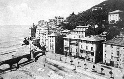 Panorama degli anni venti del Novecento