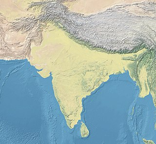 Ashoka is located in South Asia
