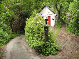 English: South West Coast Path near Martinhole...
