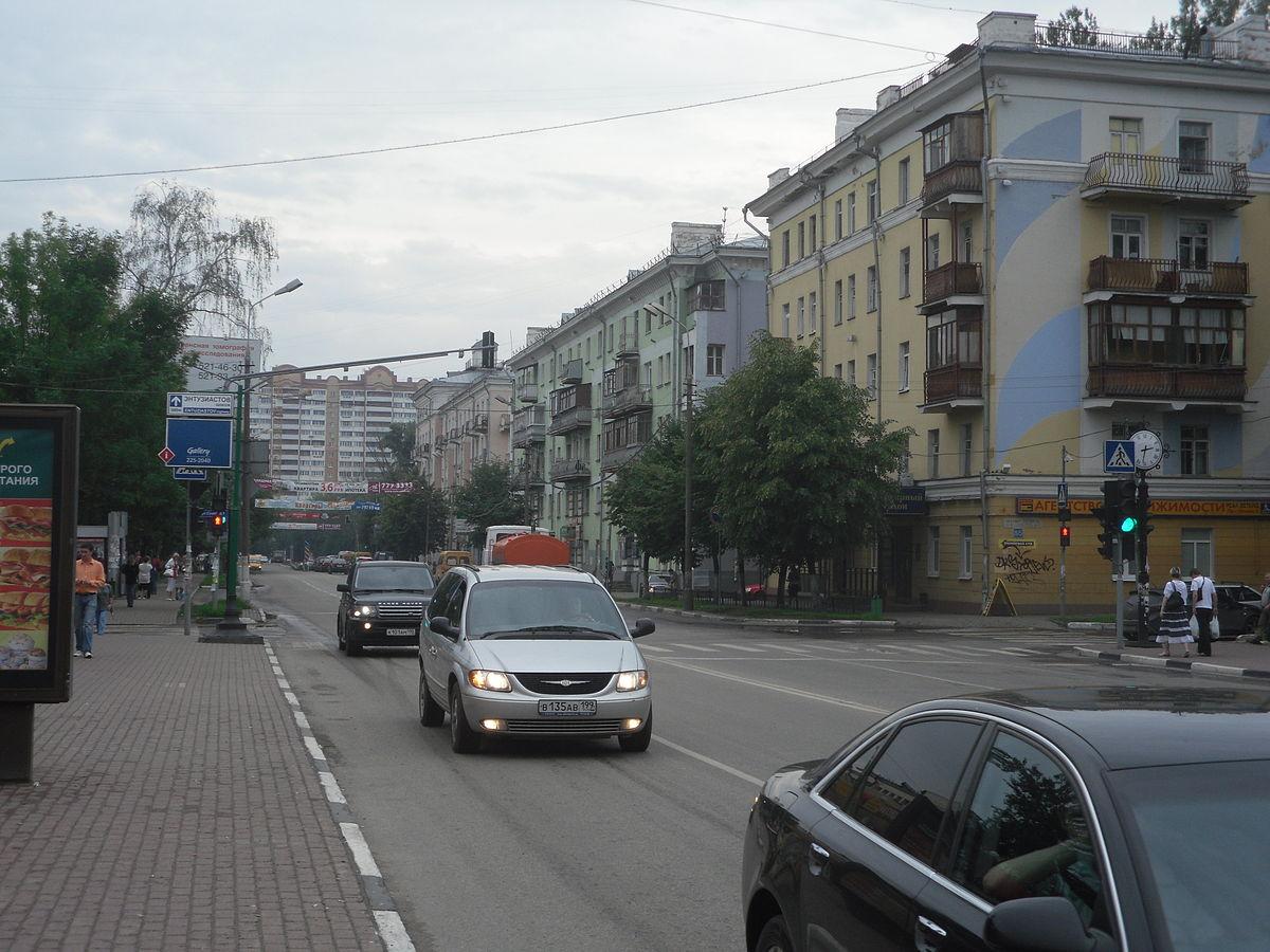 схема улиц метро щёлковская