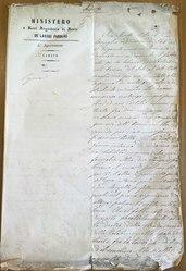 Sovrane determinazioni relative alla Colonia di Battipaglia, Ischia 23 agosto 1858