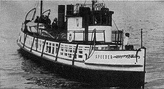 Speeder (motor vessel) - Image: Speeder (motor vessel) circa 1921
