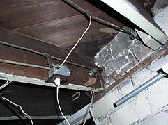 Cloth Wiring Insurance | Knob And Tube Wiring Wikipedia