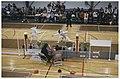 Sporthal Oosterduin aan de Zeedistelweg 1. Nederlands kampioenschap schermen. NL-HlmNHA 54036200.JPG