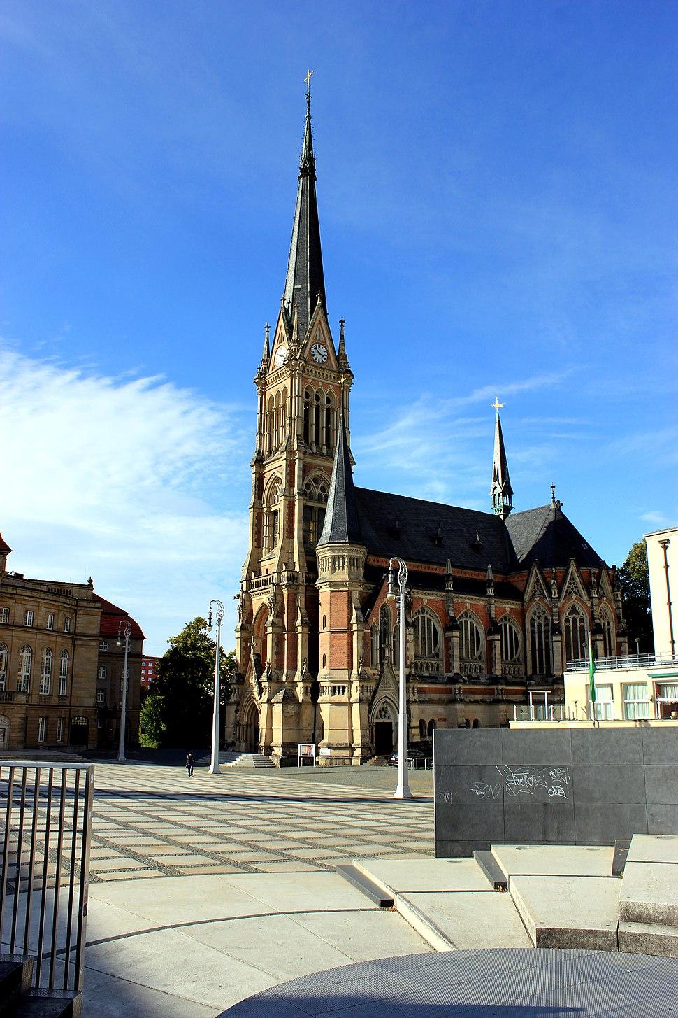 St.-Petri-Kirche in Chemnitz (Barras)