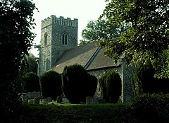 St. Mary's church, Bentley, Suffolk - geograph.org.uk - 221433.jpg