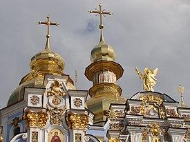 St. Michael's Golden-Domed Monastery - Wikipedia