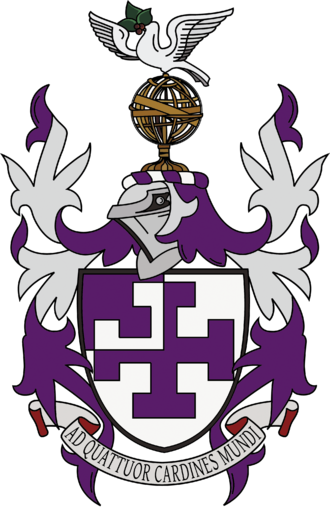 St Cross College, Oxford - St Cross Coat of Arms