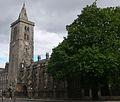 St Andrews - St Andrews - St Salvator's Chapel - belltower.JPG