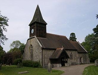 Little Berkhamsted - Image: St Andrews Church Little Berkhamsted