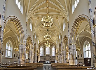 St Andrew's Cathedral, Glasgow - Interior