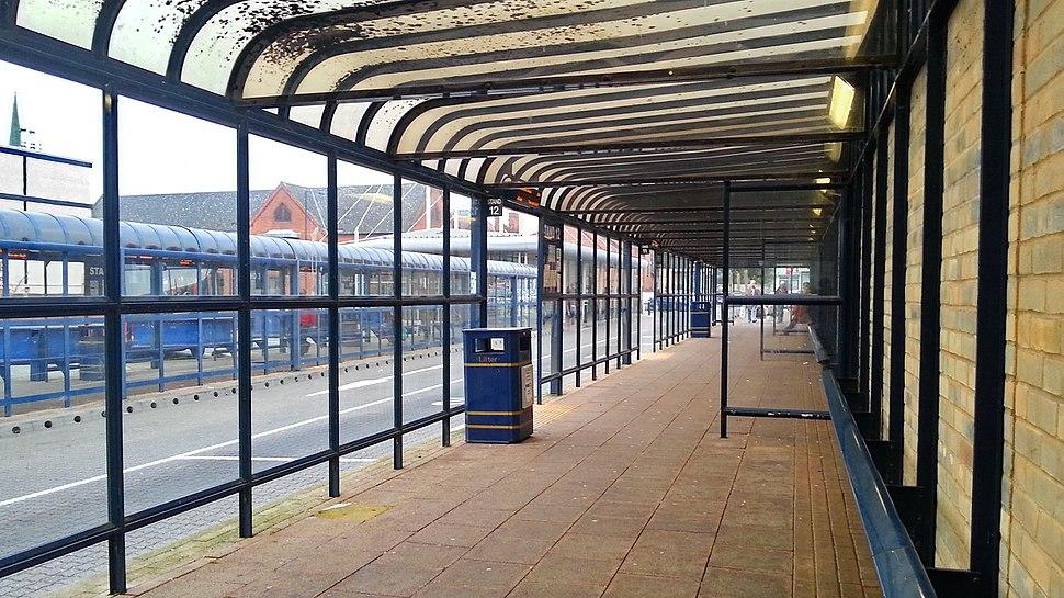 St Andrews Street Bus Station, Bury St Edmunds, 24 Oct, 2012