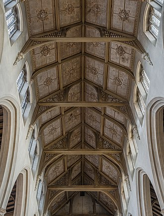 St Cyprian's, Clarence Gate - Image: St Cyprian's Church Ceiling, Clarence Gate, London, UK Diliff