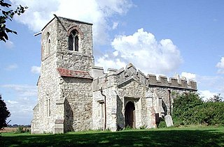 St Mary Magdalenes Church, Caldecote Church in Hertfordshire, England