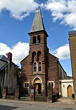 St Marys Roman Catholic church, Monmouth (geograph 5446211).jpg