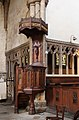 St Michael, Camden Road - Pulpit (geograph 3326195).jpg