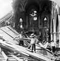 St Patrick's Church, Galveston hurricane, 1900.jpg