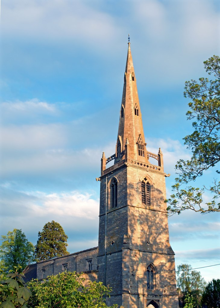 St Peter and St Paul's Church, Easton Maudit-geograph-4481888-by-Mike-Beale
