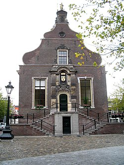 Old city hall of Schiedam