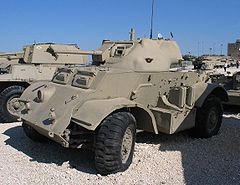 T17E1 Staghound Muzeum Jad la-Szirjon (Izrael)