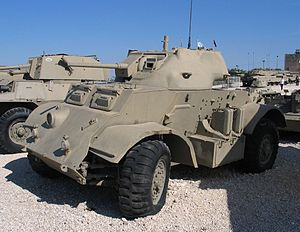 T17 (armored car) - Image: Staghound latrun 2