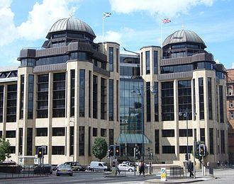 West End, Edinburgh - Image: Standard Life Building, Lothian Road Edinburgh