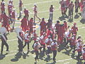 Stanford Band performing pregame at 2008 Big Game 04.JPG