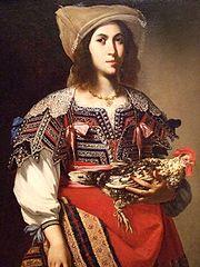 Woman in Neapolitan Costume