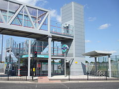 Star Lane stn east entrance.jpg