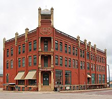 State Capital Publishing Company Building Guthrie Oklahoma
