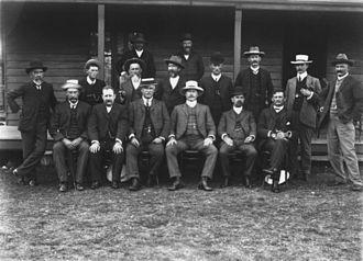Shire of Coomera - Coomera Shire Council members, ca. 1911