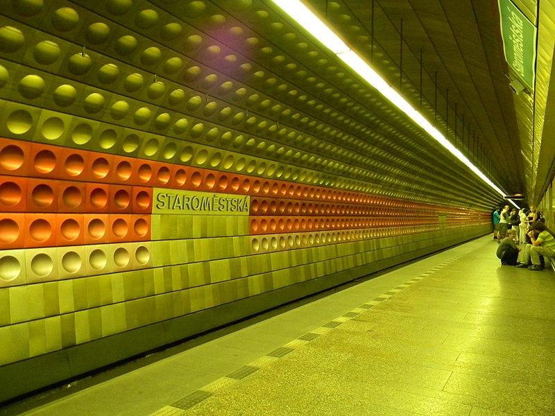 File:Station de métro à Prague.jpg