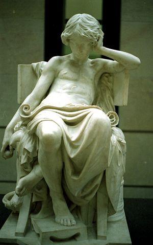 Charles Degeorge - Charles Degeorge's statue La jeunesse d'Aristote