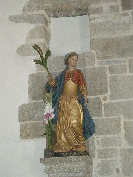 Fichier: Statue Sainte-Barbe gauche.jpg