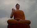 Statue of Buddha at Dammagiri in Duvvada 03.jpg
