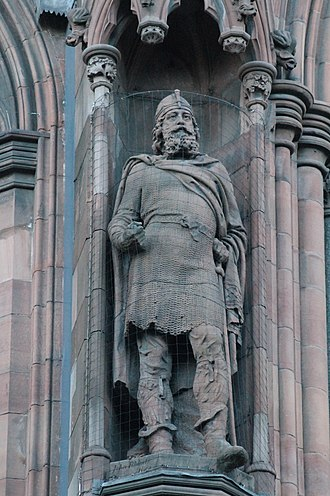 Malcolm III of Scotland - Statue of King Malcolm III, Scottish National Portrait Gallery