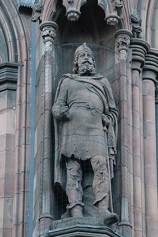 Statue of King Malcolm III, Scottish National Portrait Gallery