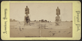 Statue of Lincoln on the Plaza, from Robert N. Dennis collection of stereoscopic views.png